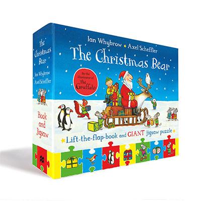 The Christmas Bear Book and Jigsaw Set - Jacket