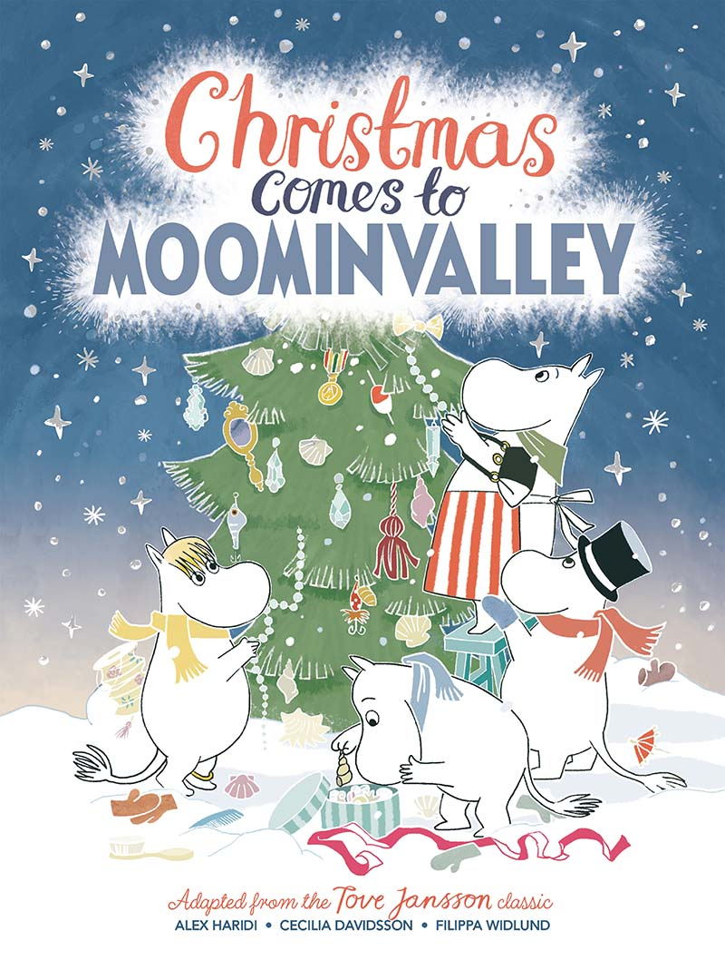 Christmas Comes to Moominvalley - Jacket
