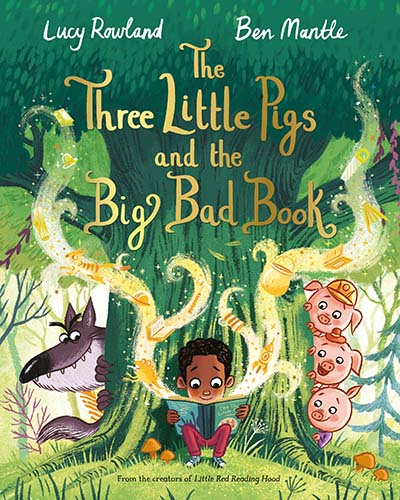 The Three Little Pigs and the Big Bad Book - Jacket