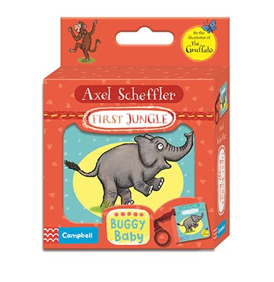 Axel Scheffler First Jungle Buggy Book - Jacket