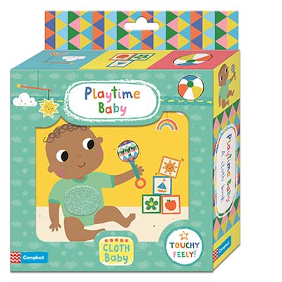 Playtime Baby Cloth Book - Jacket