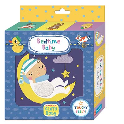 Bedtime Baby Cloth Book - Jacket