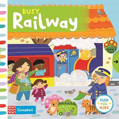 Busy Railway - Jacket