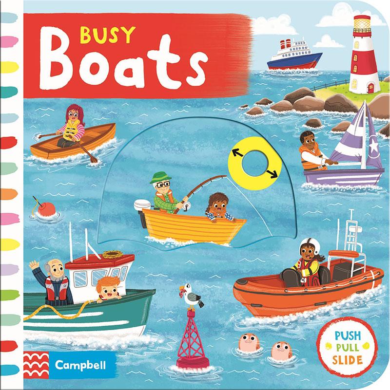 Busy Boats - Jacket