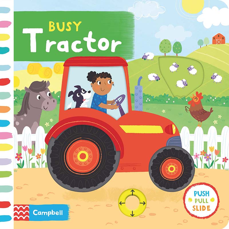 Busy Tractor - Jacket