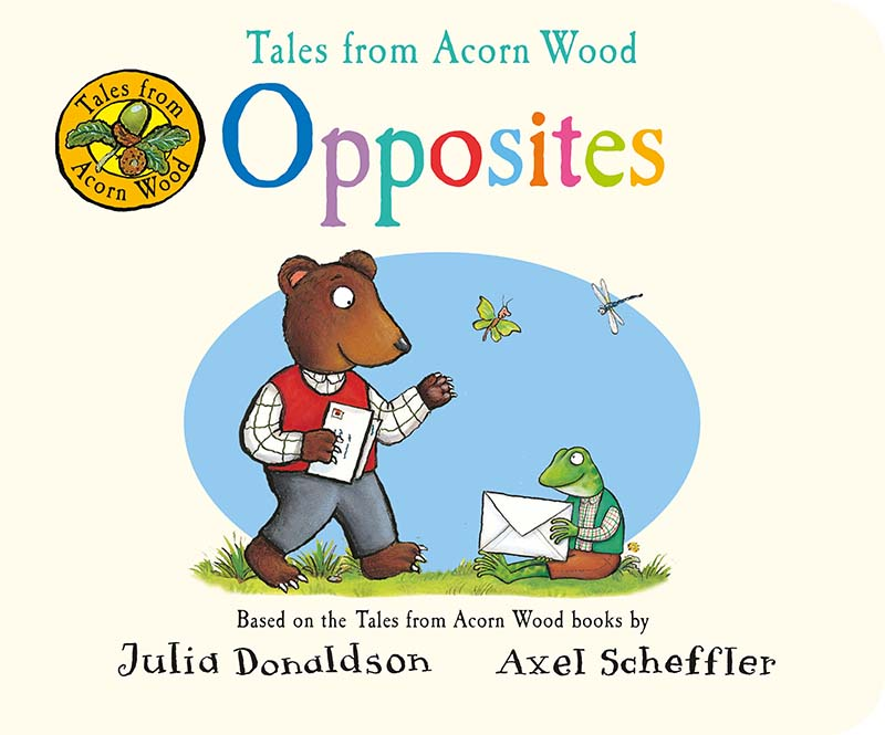 Tales from Acorn Wood: Opposites - Jacket