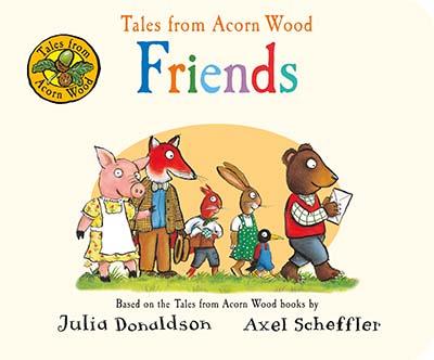 Tales from Acorn Wood: Friends - Jacket