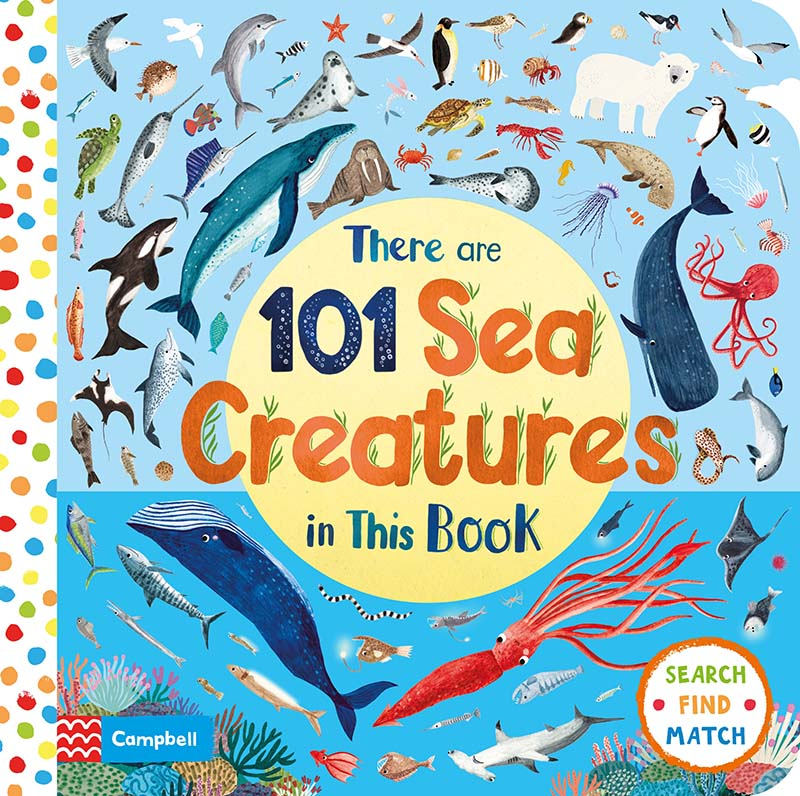 There Are 101 Sea Creatures in This Book - Jacket