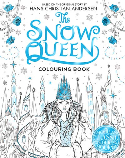 The Snow Queen Colouring Book - Jacket