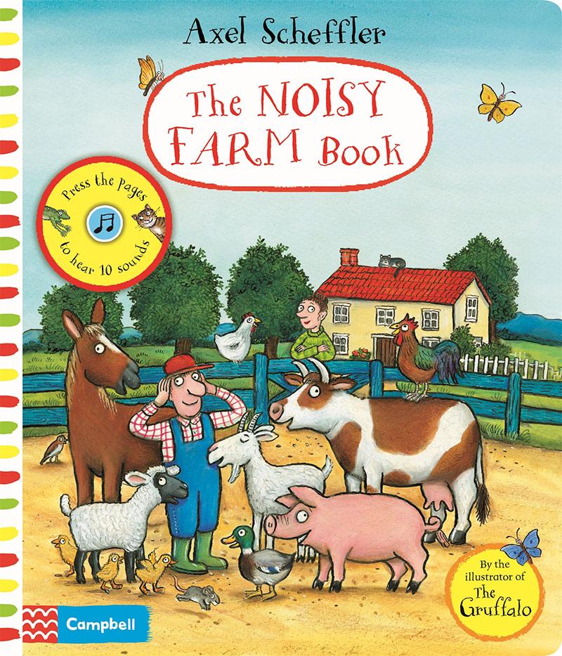 The Noisy Farm Book - Jacket