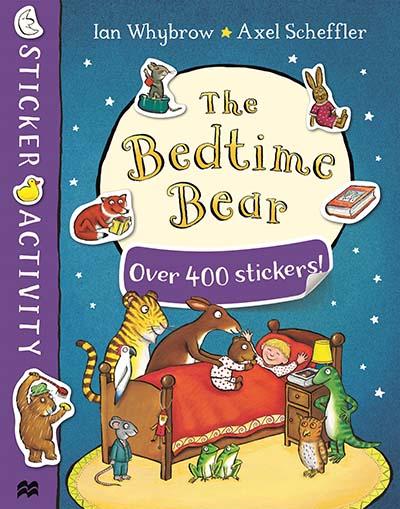 The Bedtime Bear Sticker Book - Jacket
