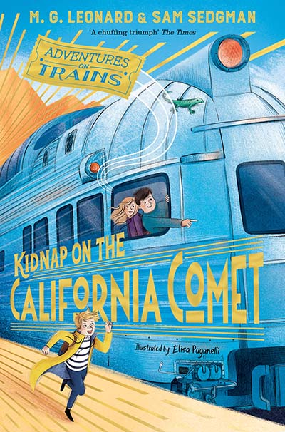 Kidnap on the California Comet - Jacket