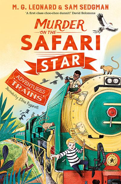 Murder on the Safari Star - Jacket