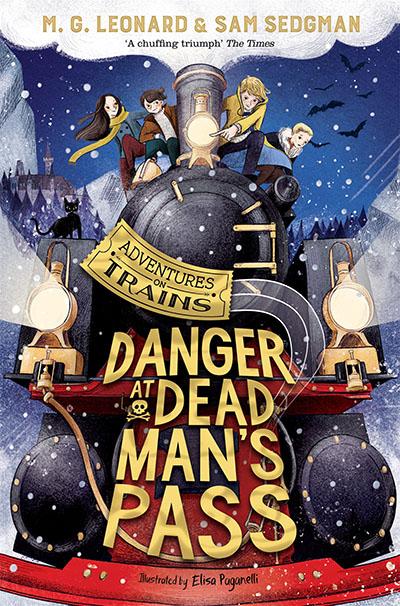 Danger at Dead Man's Pass - Jacket