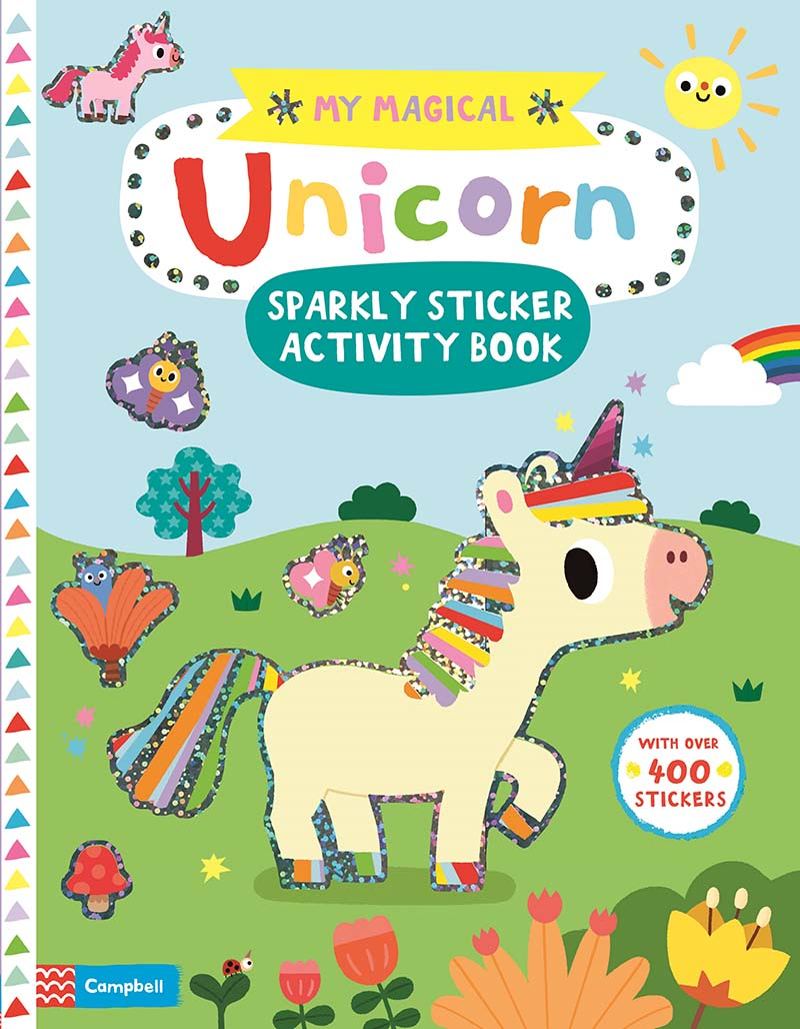 My Magical Unicorn Sparkly Sticker Activity Book - Jacket