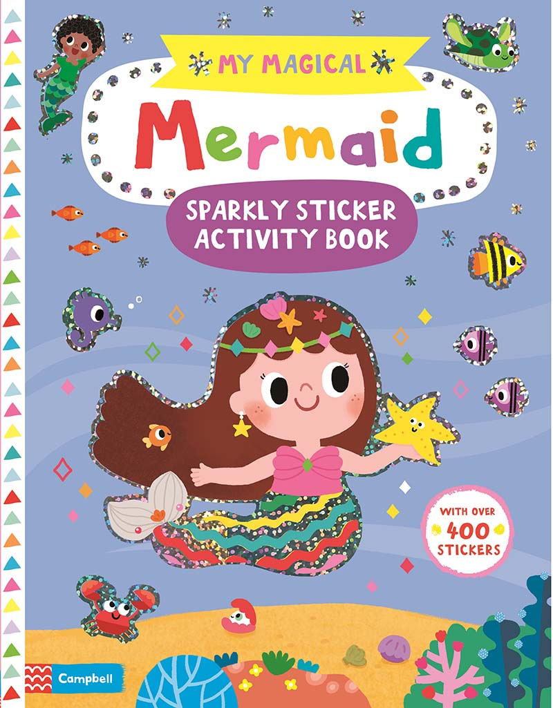 My Magical Mermaid Sparkly Sticker Activity Book - Jacket
