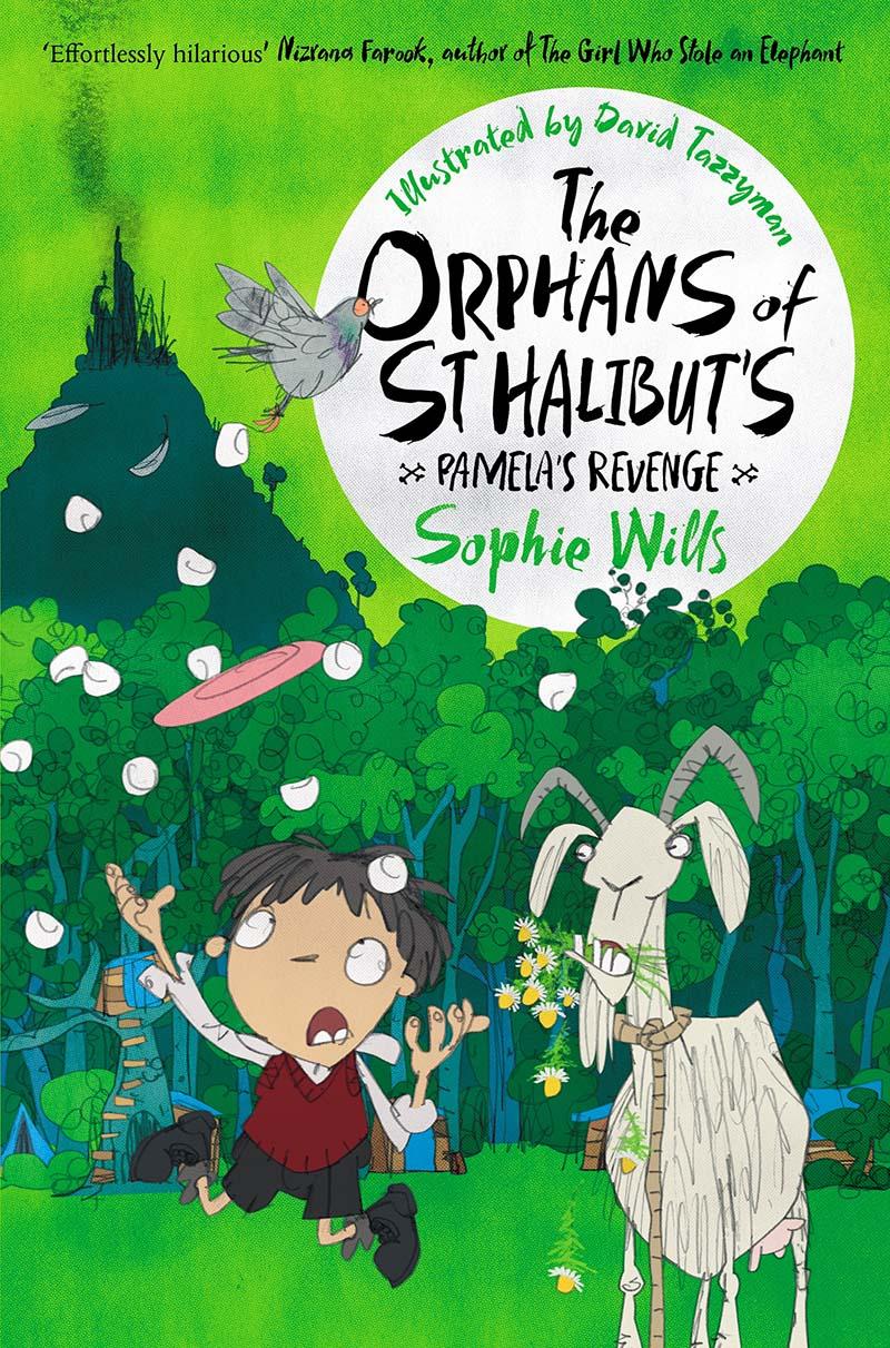 The Orphans of St Halibut's: Pamela's Revenge - Jacket