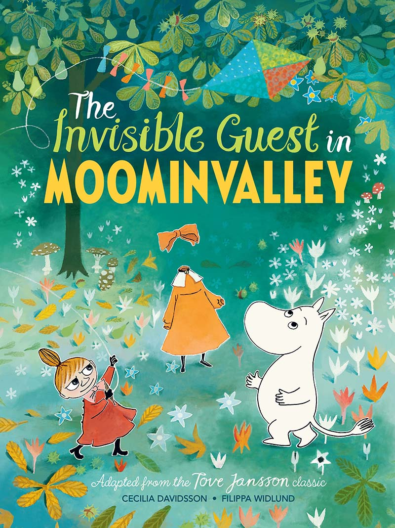 The Invisible Guest in Moominvalley - Jacket