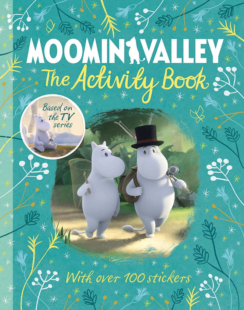 Moominvalley: The Activity Book - Jacket