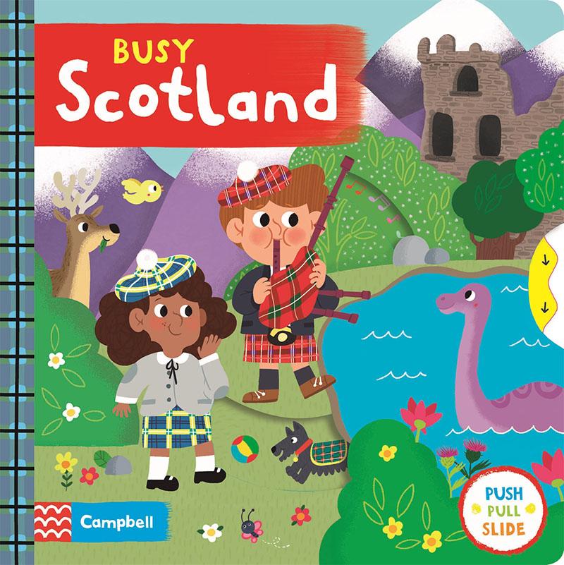 Busy Scotland - Jacket