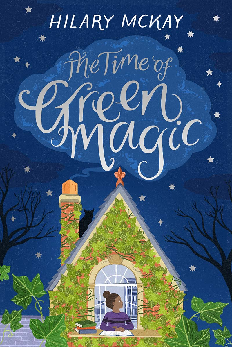 The Time of Green Magic - Jacket