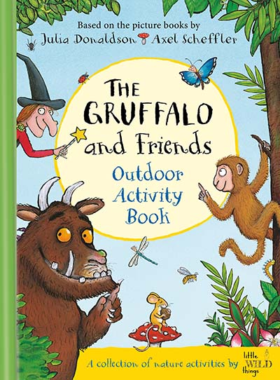 The Gruffalo and Friends Outdoor Activity Book - Jacket