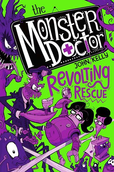 Monster Doctor: Revolting Rescue - Jacket