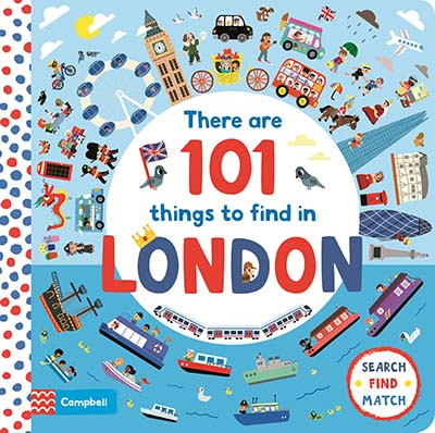 There Are 101 Things to Find in London - Jacket