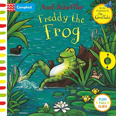 Axel Scheffler Freddy the Frog - Jacket