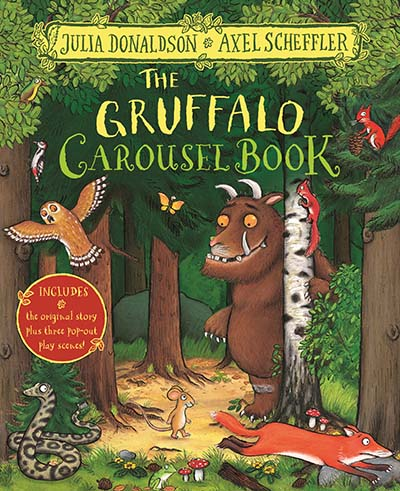 The Gruffalo Carousel Book - Jacket