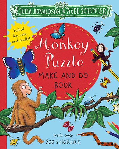 Monkey Puzzle Make and Do Book - Jacket