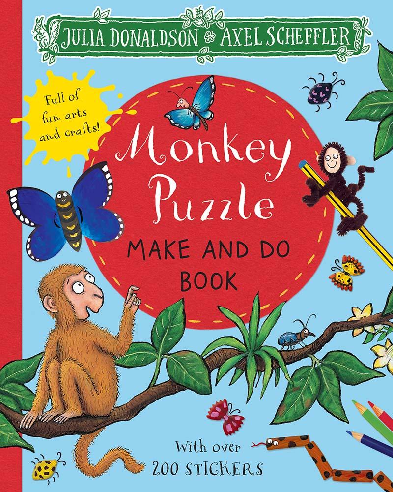 Monkey Puzzle Make and Do Book - Jacket