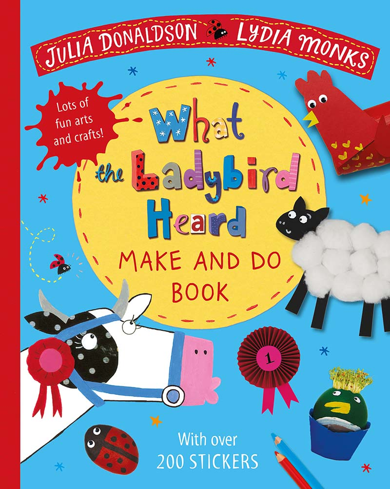 What the Ladybird Heard Make and Do - Jacket