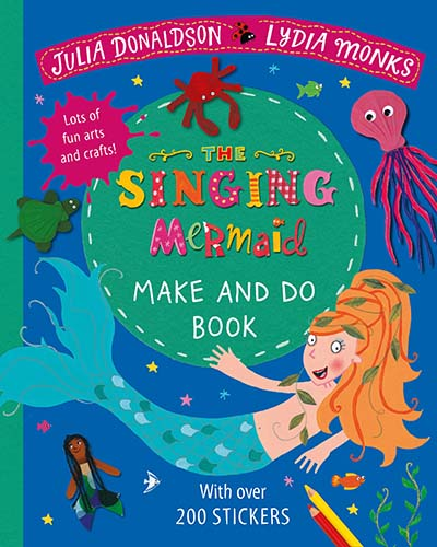 The Singing Mermaid Make and Do - Jacket