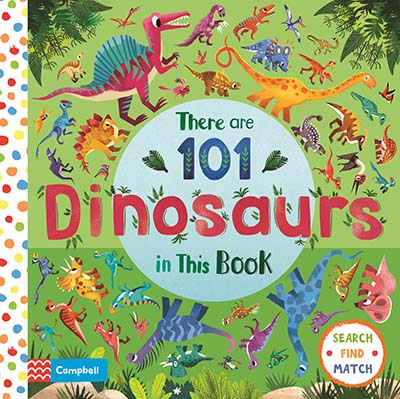 There are 101 Dinosaurs in This Book - Jacket