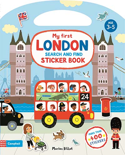 My First London Search and Find Sticker Book - Jacket