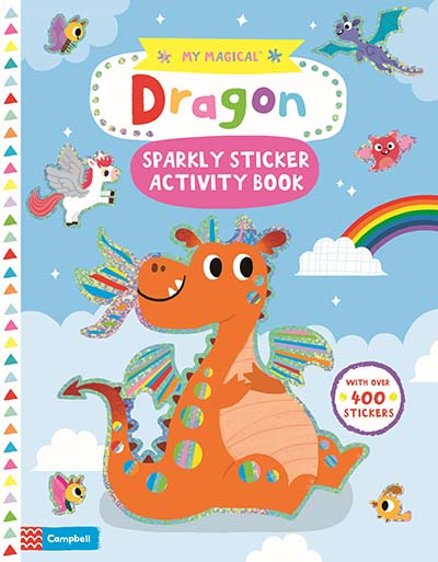 My Magical Dragon Sparkly Sticker Book - Jacket