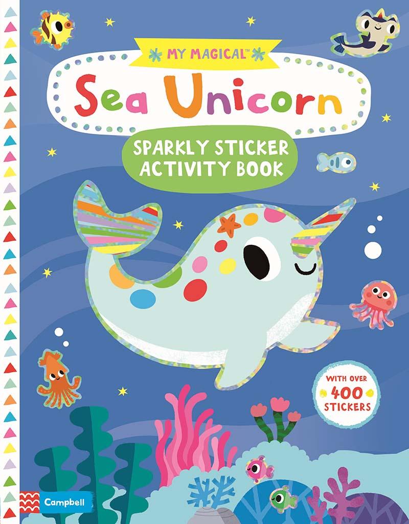 My Magical Sea Unicorn Sparkly Sticker Activity Book - Jacket