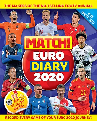Match! Euro Diary 2020 - Jacket
