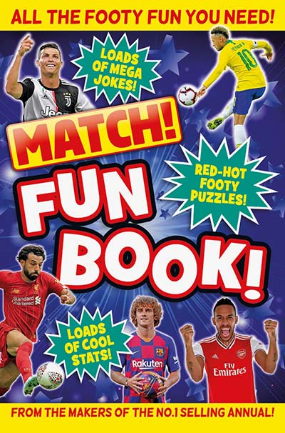 Match! Fun Book - Jacket