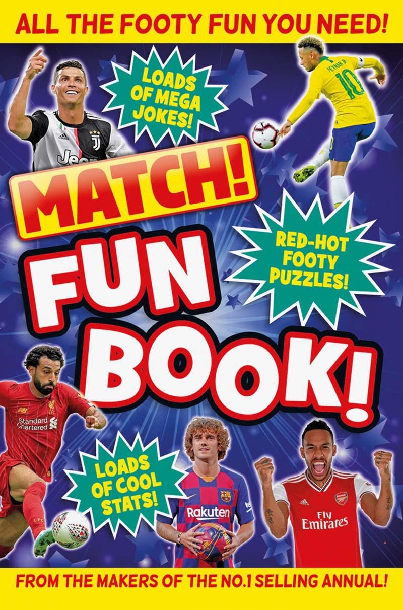 Match! Fun Book - Jacket