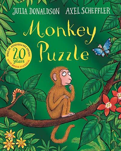 Monkey Puzzle 20th Anniversary Edition - Jacket