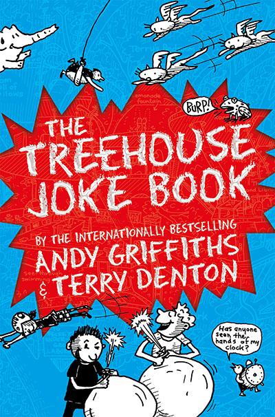The Treehouse Joke Book - Jacket