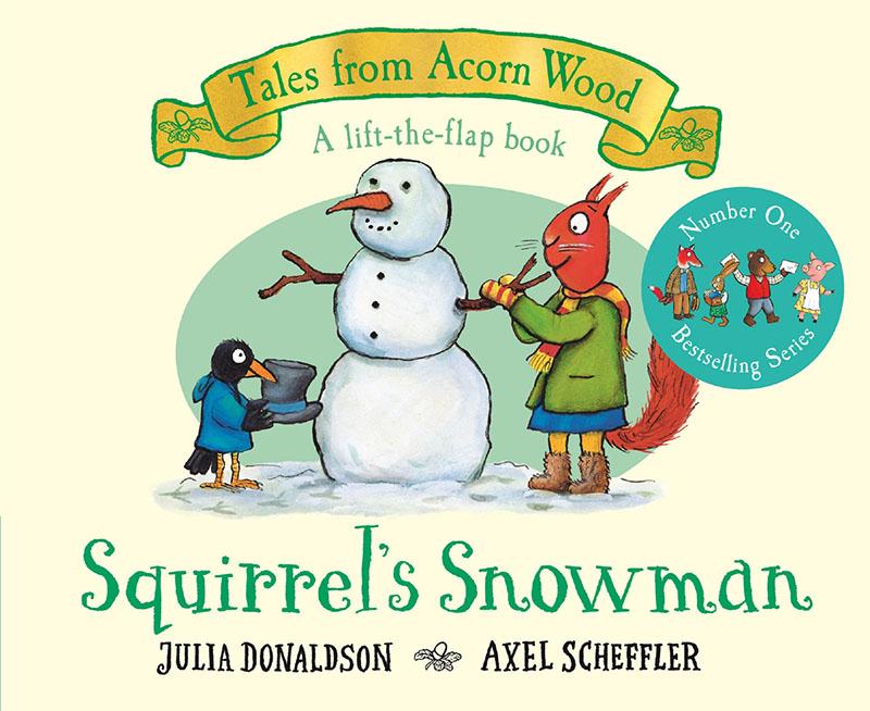 Squirrel's Snowman - Jacket