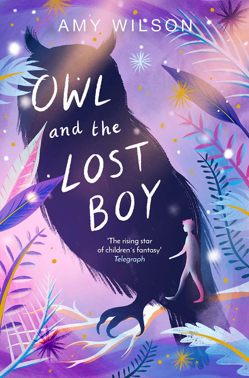 Owl and the Lost Boy - Jacket