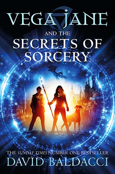 Vega Jane and the Secrets of Sorcery - Jacket