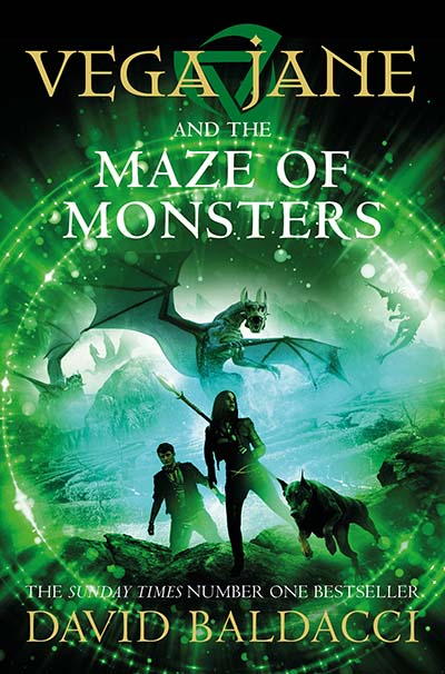 Vega Jane and the Maze of Monsters - Jacket