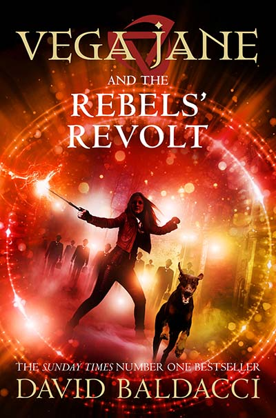 Vega Jane and the Rebels' Revolt - Jacket
