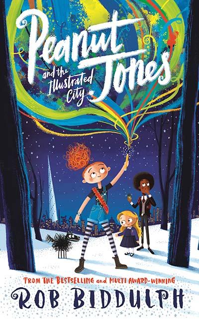 Peanut Jones and the Illustrated City - Jacket