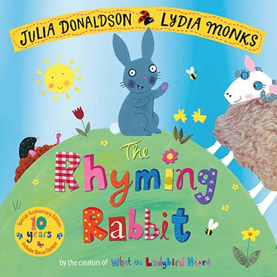 The Rhyming Rabbit 10th Anniversary Edition - Jacket